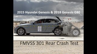 2015-2019 Hyundai Genesis/Genesis G80 FMVSS 301 Rear Crash Test (50 Mph)
