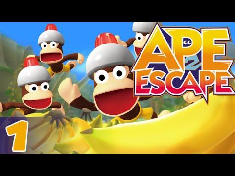 (PS4) Ape Escape 2 - part 1/9