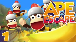 (PS4) Ape Escape 2 - part 1/9