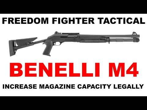 Increase Benelli M4 Tactical Shotgun Magazine Capacity and Maintain 922(r) Compliance
