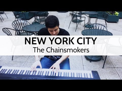 """New York City"" - The Chainsmokers (Piano Cover) - Niko Kotoulas"