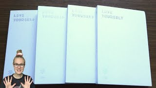Unboxing BTS (Bangtan Boys) 방탄소년단 5th Mini Album Love Yourself 承 'Her' (All L, O, V & E Editions)