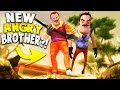 HELLO NEIGHBOR'S NEW CRAZY ANGRY BROTHER!? | Hello Neighbor Mobile Game Rip Off (Crazy Neighbor)