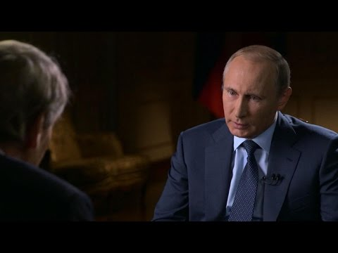 Putin talks ISIS and Syrian President Assad with Charlie Rose