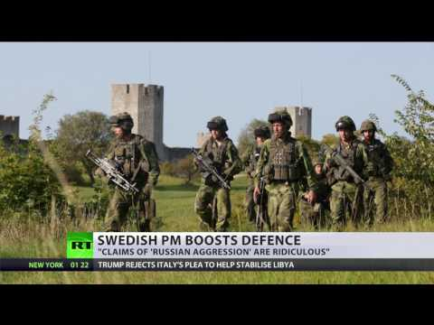'Signal to Russia': Swedish Defense Minister vows to boost security