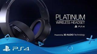 Platinum Wireless Headset | PS4
