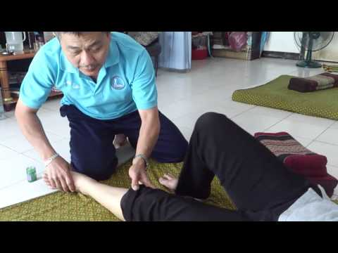 "Thara Thai Massage - นวดแก้อาการพังผืดรัดข้อเท้าอักเสบหรือ""รองช้ำ"""