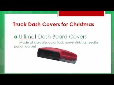 Truck Dashboard Covers | Dash Mats - Best Truck Accessory Christmas Gift List