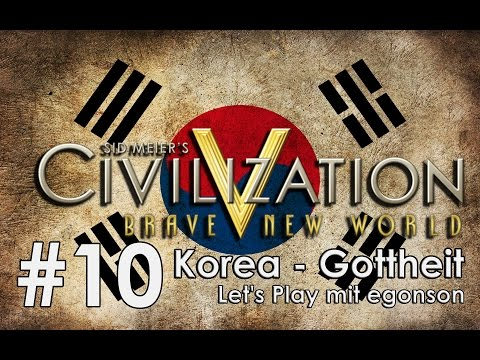 Civilization V Gottheit Korea #10 - Das Doppelfolge-eins Let's Play