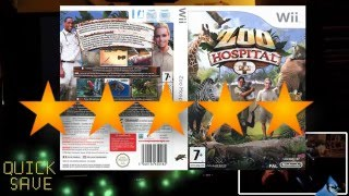 Zoo Hospital for Nintendo Wii Game Play and Game Review Part 1