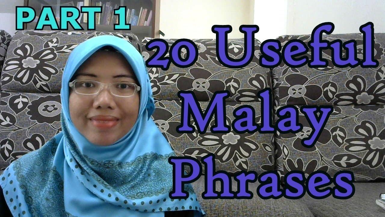 Useful Malay phrases