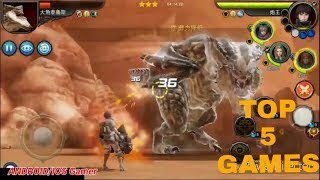 New game android 2019 offline/online top 5 games