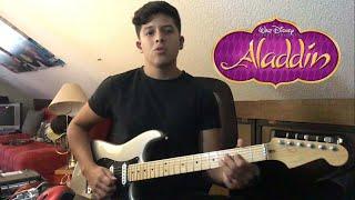 Peabo Bryson - A whole new world (guitar solo) Aladdin