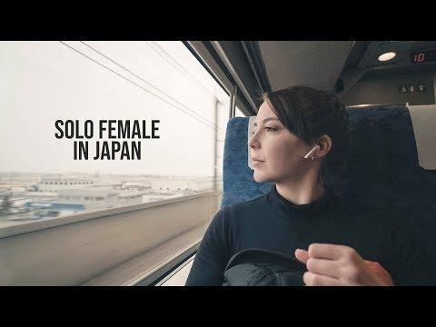 Solo travelling in Japanese countryside - Murakami, Japan