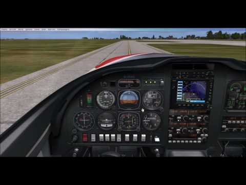 FSX - RealAir Lancair Legacy V2 - Cold and Dark Tutorial and VFR Flight over Lisbon with real route