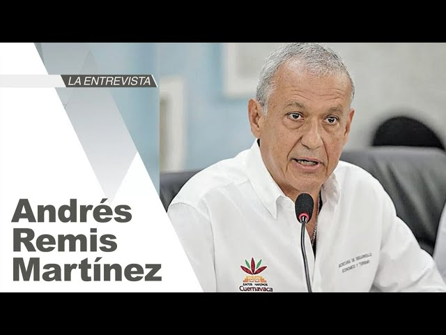 La Entrevista: Andrés Remis Martínez, secretario de Turismo y Desarrollo Económico de Cuernavaca