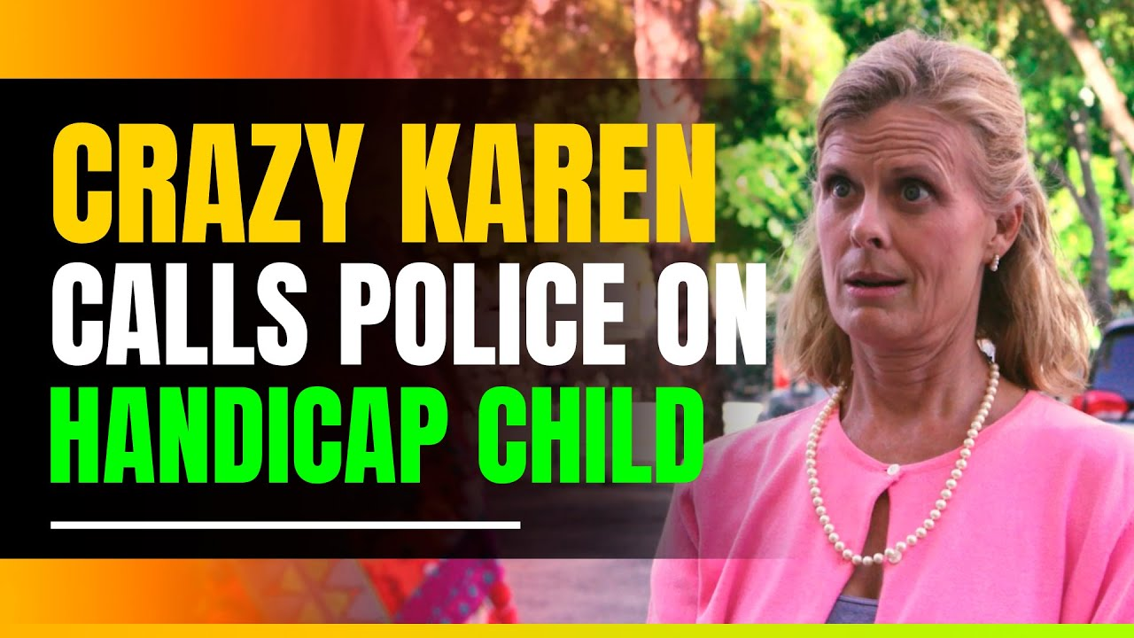 Crazy 'Karen' Calls Police on Handicap Parking Violator. Gets a huge Surprise.