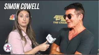 Simon Cowell EXPLAINS His Judging Style and REACTS To his STOLEN Golden Buzzer on 'AGT Champions'