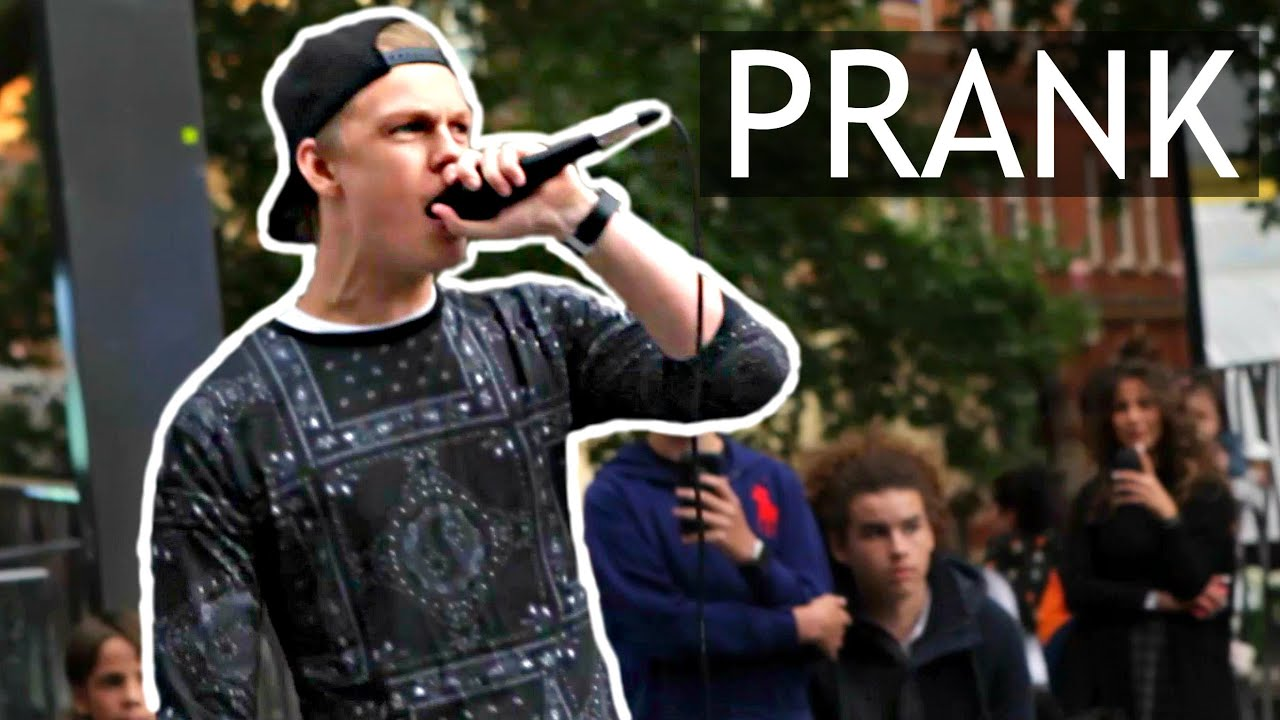 public singing prank youtube