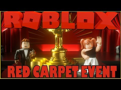 ROBLOX BLOXY AWARDS RED CARPET EVENT | PLAYING GAMES!