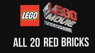 All 20 Red Bricks unlock guide - The LEGO Movie Videogame