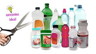 7 AMAZING WAYS TO RECYCLE/REPURPOSE PLASTIC BOTTLES| Best Out Of Waste