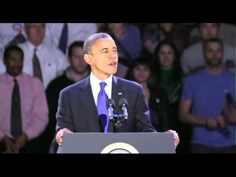 President Obama's acceptance speech...