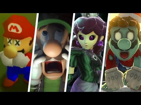Evolution of Creepy Super Mario Moments (1996 - 2018)