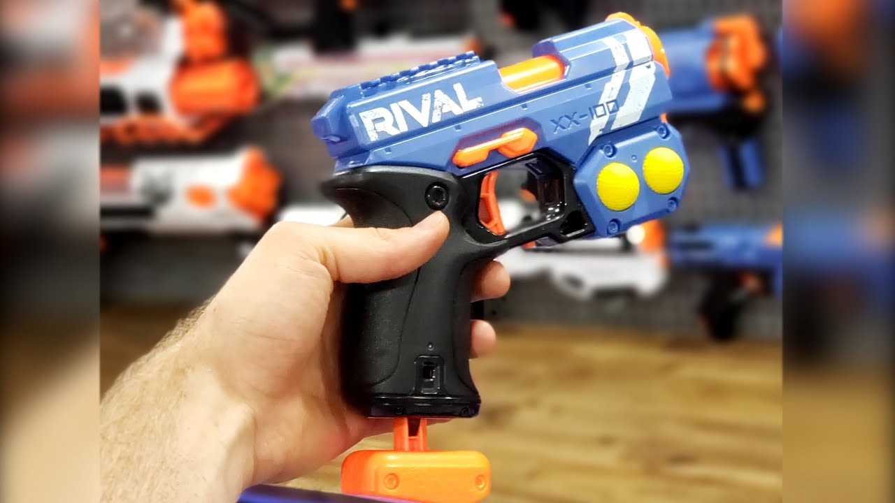 The *NEW* NERF Rival Knockout!