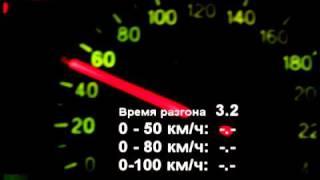 Hyundai Sonata 2.0 Разгон 0-100 За 9.6 Секунды