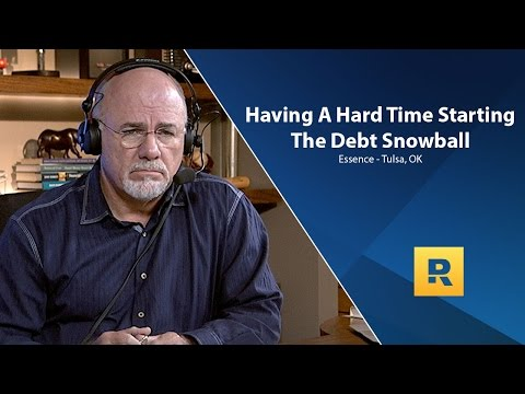 I'm Having A Hard Time Starting The Debt Snowball