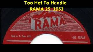 BLUE NOTES - Too Hot To Handle - RAMA 25 - 1953