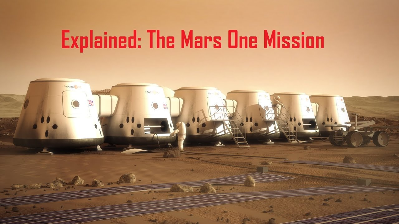 Explained: The Mars One Mission - YouTube