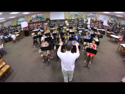 """Westglades Middle School Brass Choir: """"Music for the Royal Fireworks"""" By Handel"""