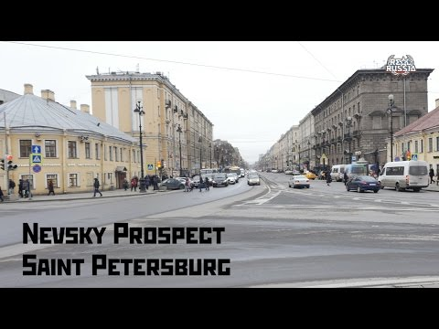 "Nevsky Prospect. Saint Petersburg. ""Real Russia"" ep.133 (4K)"