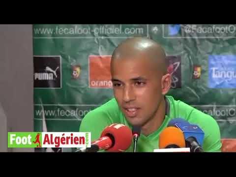 Réaction de Sofiane Feghouli à l'issue du match Cameroun 2 - 0 Algérie