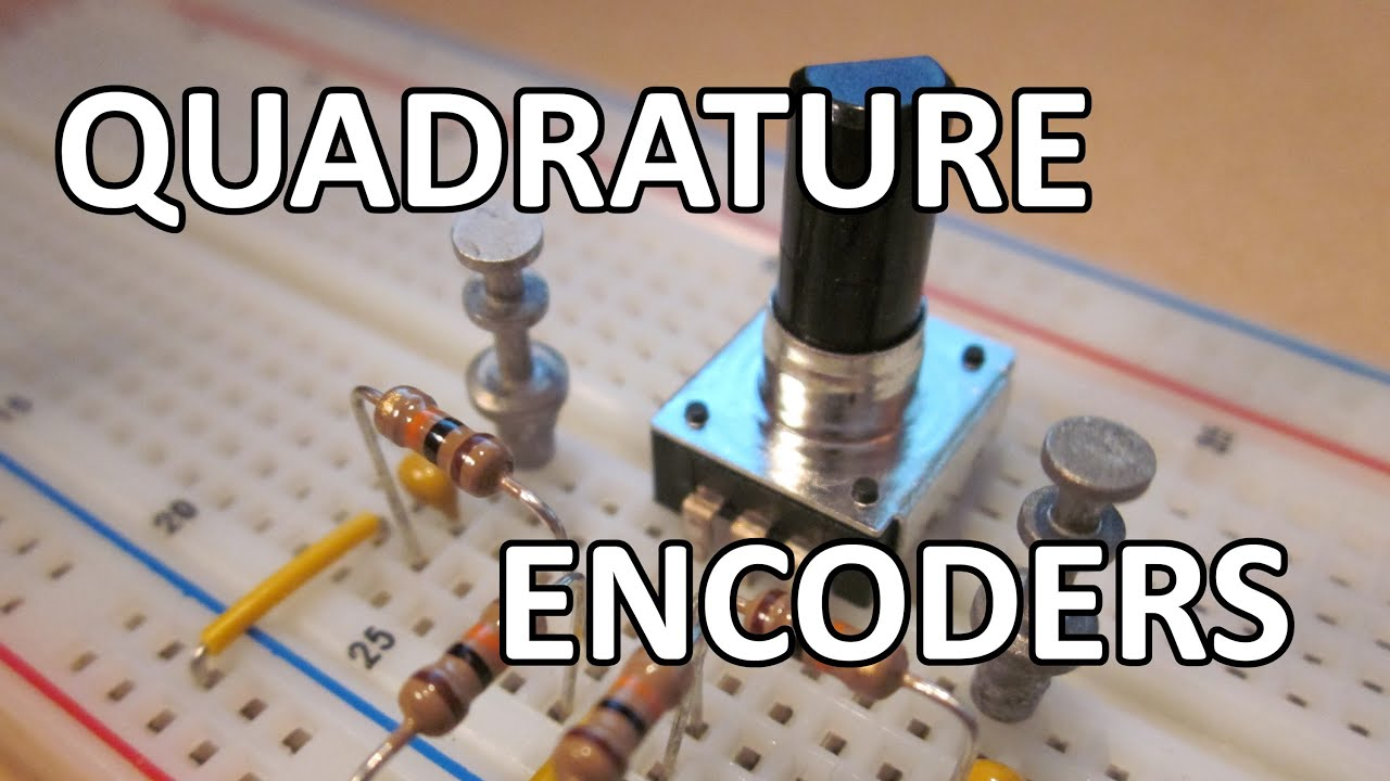 Tinman Electronics 7 - How to interface a quadrature output rotary encoder
