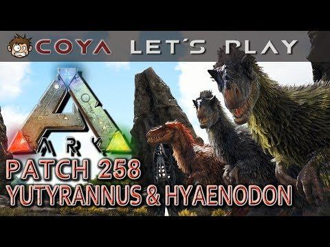 ARK • Yutyrannus & Hyaenodon • PATCH 258 TEIL 1 • ARK Deutsch Survival Evolved German