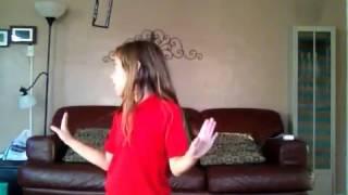 7 Year Old Dancing Girl