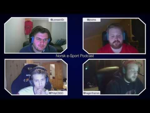 Norsk e-Sport podcast #1 med Groggi & Philip