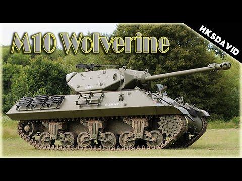 War Thunder M10 Wolverine  páncélvadász bemutató