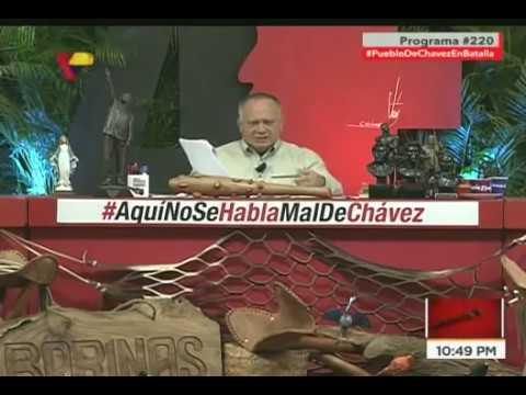 """Diosdado Cabello sobre migraciones de venezolanos: Denuncia campaña mediática y """"fake news"""""""