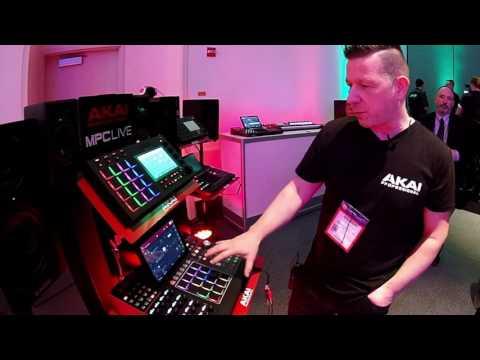 AKAI MPC X, MPC Live Hands-On Demo