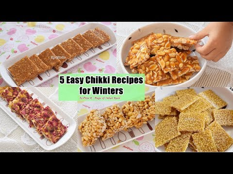 5 Easy Chikki Recipes for Winters - Priya R - Magic of Indian Rasoi