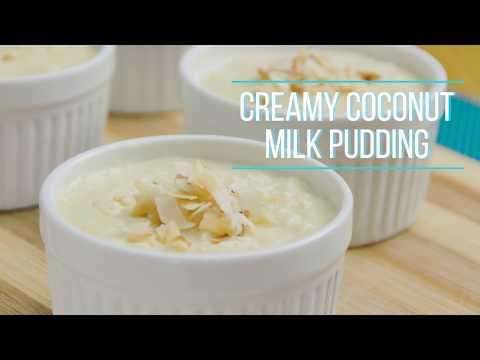Keto Coconut Milk Pudding Recipe