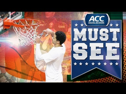 Miami Hurricanes, Notre Dame, UNC  each in the ACC  drop in ...
