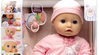 2016 NEW Baby Annabell  : Baby Doll Cries Tears , Really Pee on Potty and Sleep like Real Baby