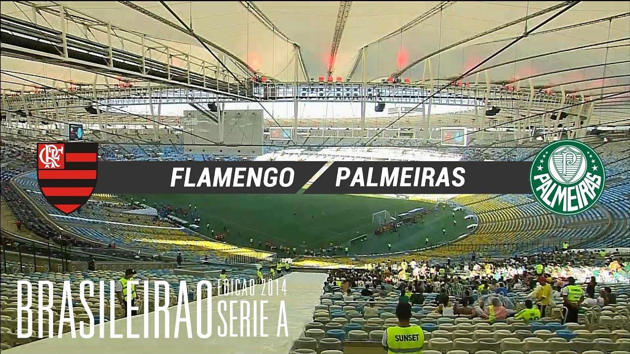 Melhores Momentos - Flamengo 4 x 2 Palmeiras - Brasileirão 2014 - 04 05 2014 2d138c3035786