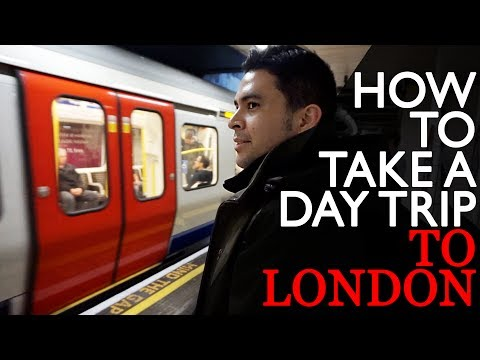 HOW TO TAKE A DAY TRIP TO LONDON | The Postmodern Family EP#12