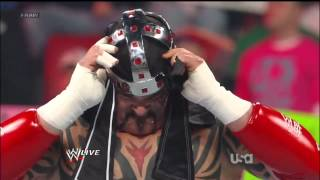Lord Tensai vs R Truth WWE Raw 4 23 12